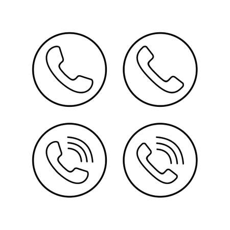 Call icons set. Phone icon vector. mobile phone. telephone icon