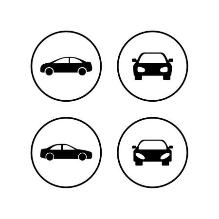 Car icons set. Car icon vector