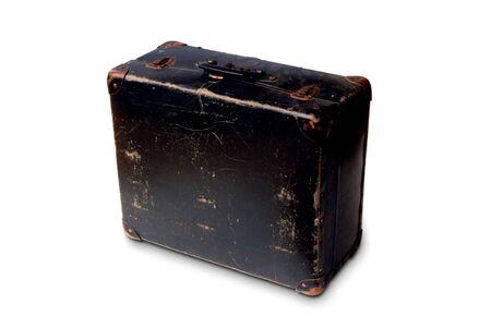 robustness: used suitcase symbol of travel