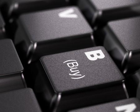 buy written on a black key - keyboard Stock Photo - 7647499