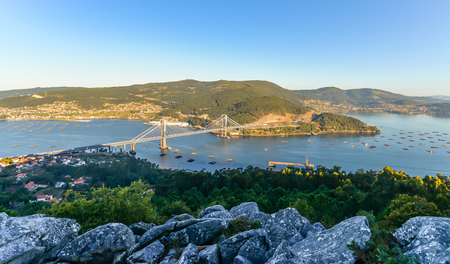 Morning over Ria de Vigo - Galicia