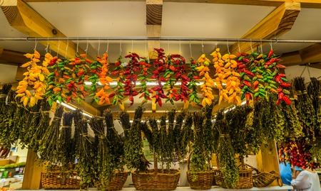 The fruit and vegetable market in Funchal - Maderia - Portugal