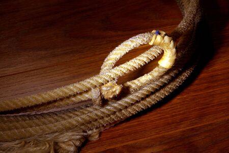 hondo: Hondo loop on a western cowboy rodeo lasso