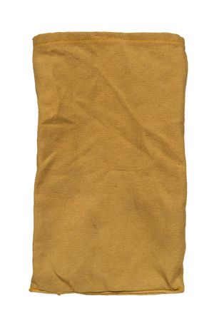 sac: Old fashioned burlap bag isolated on white Stock Photo
