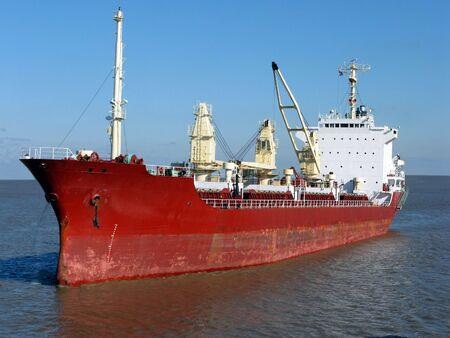 seafaring: Lotes de transportista de carga los buques que naveguen en aguas tranquilas