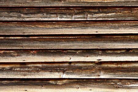 苦しめられた古い納屋の木製の羽目板背景 写真素材