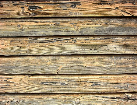 Distressed old barn wood clapboard background Stock Photo - 7235796