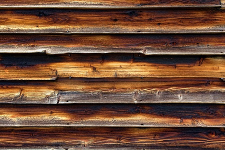 house siding: Old and weathered wood clapboard house wall siding background Stock Photo