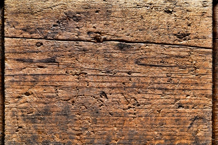 Grunge distressed and old antique wood plank barn wood boards background