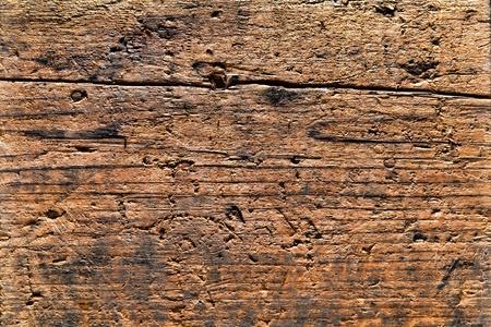 古いものと苦しめられたアンティークの板に納屋風化テクスチャ木目の粗いグランジ背景を持つ木の板