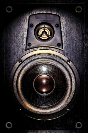 High fidelity audio stereo system sound speaker