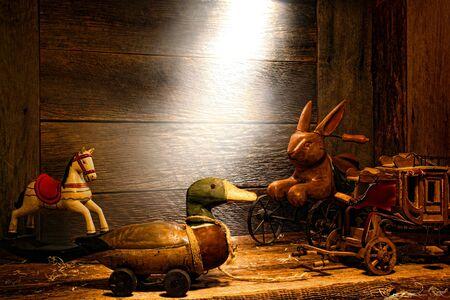 pull toy: Antiguos y cl�sicos juguetes de madera