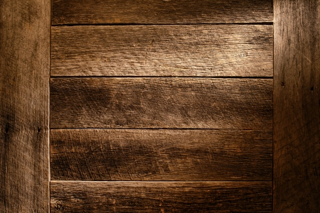 古いアンティーク木製ボード板グランジ背景