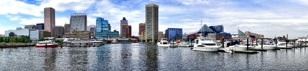 Baltimore Inner Harbor boat and small craft