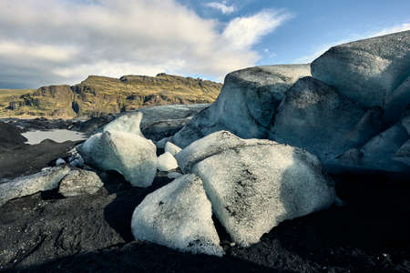 """Jökulsárlón literally means """"glacier lagoon"""", and is the largest of the country's proglacial lakes. The lagoon is located on the south coast between Höfn and Vatnajökull Park. Stock fotó"""