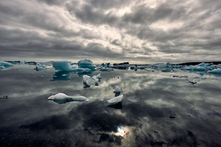 """Jökulsárlón literally means """"glacier lagoon"""", and is the largest of the country's proglacial lakes. The lagoon is located on the south coast between Höfn and Vatnajökull Park."""