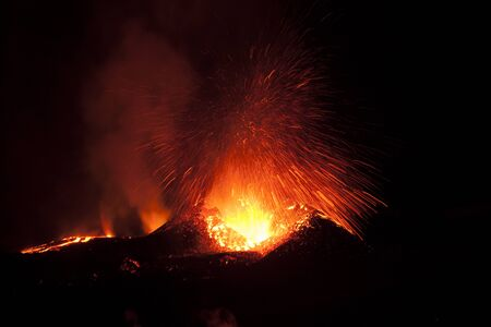 The 2010 eruptions of Eyjafjallaj?kull were volcanic events at Eyjafjallaj?kull in Iceland which, although relatively small for volcanic eruptions, caused huge disruption to air travel.