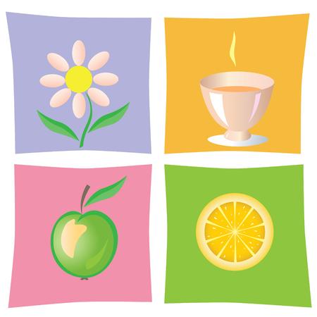 camomile tea: Vitamins for Health icon