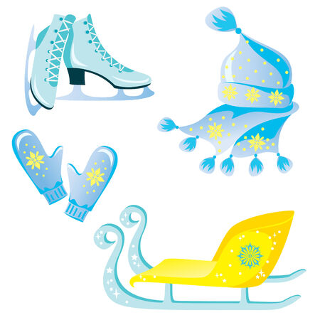 ice skates: Accessories for winter recreation