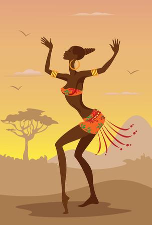 アフリカの女性のベクトル イラスト 写真素材 - 27249843