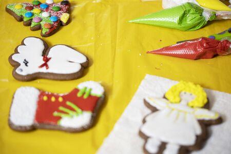 Gingerbread Cookie. Handmade. Gingerbread handmade.