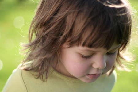 girl in the sun Stock Photo - 744119