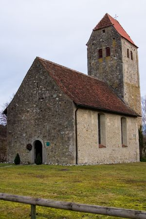 an old small church in germany, europe Stock Photo - 4984958