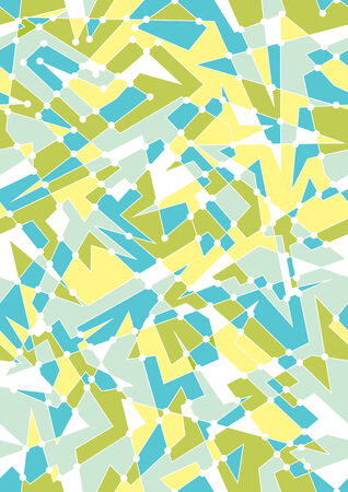 Seamless Geometric Background With Polygon Shapes And Bright colors