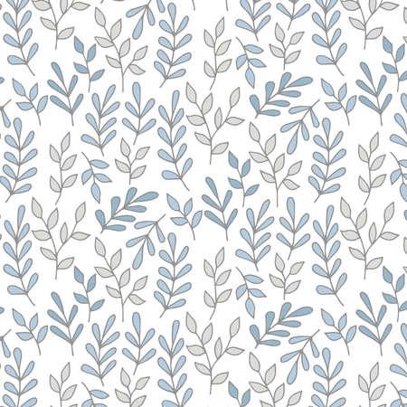 grey pattern: Grey leafs pattern