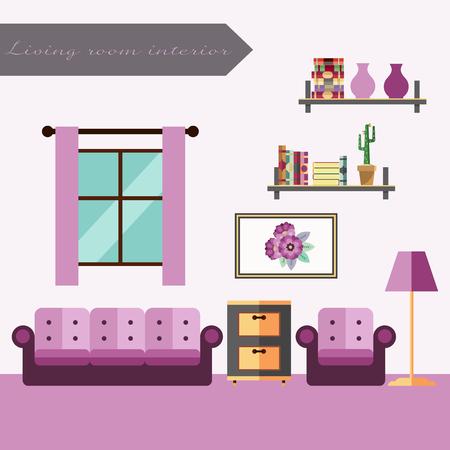 living room interior: living room interior