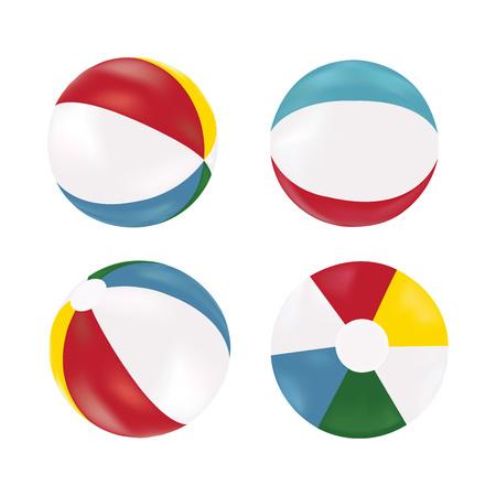 red ball: Beach ball