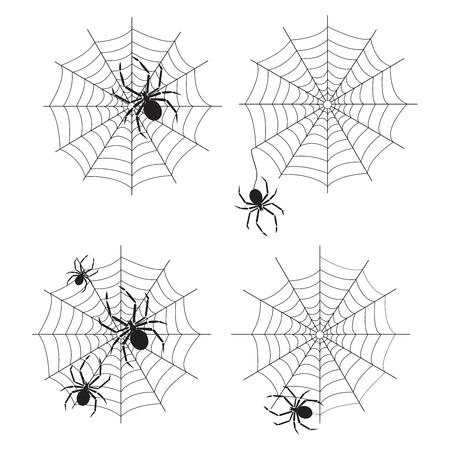 spider web vector Banco de Imagens - 45778333