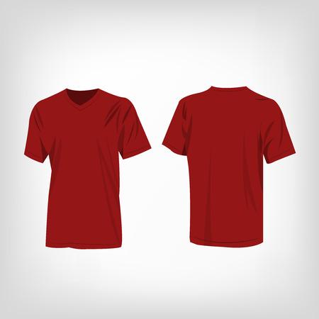 rojo oscuro: Oscuro camiseta roja