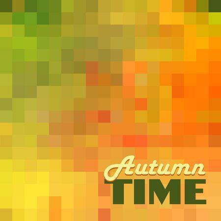 autumn background: Autumn abstract background