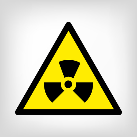Danger sign yellow triangle vector