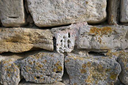 firmness: Ancient stone background Stock Photo
