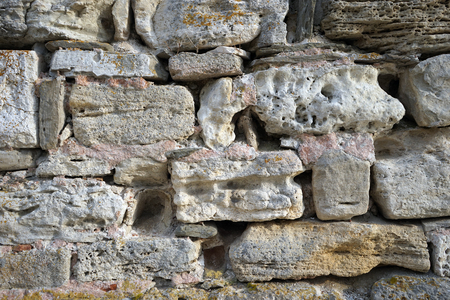 firmeza: fondo de piedra antigua