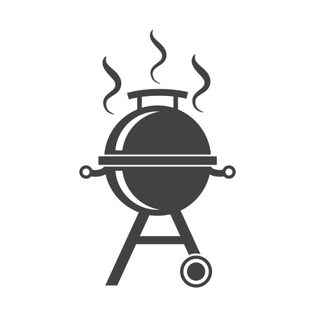 glades: Barbecue isolated vector icon BBQ