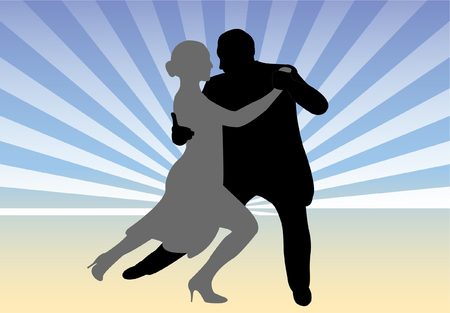 dance couple  Vector