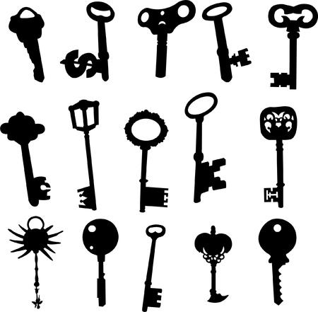 set of key Stock Vector - 8964910