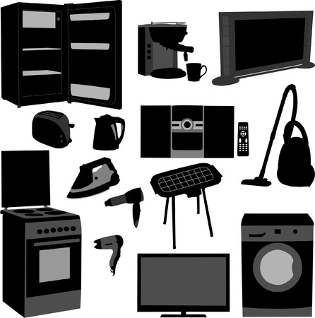 house appliance - vector Illustration