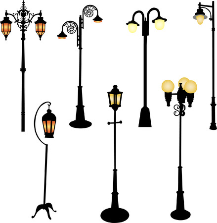 street  lamp Stock Vector - 9132175