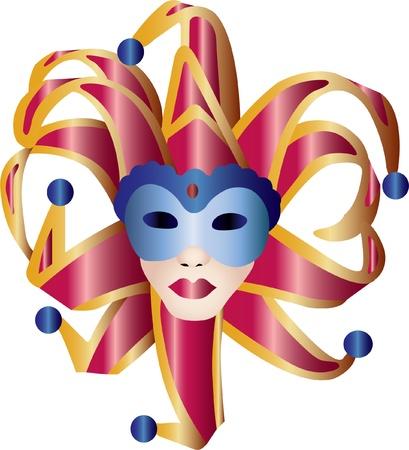 mascaras de carnaval: máscara de bola de vanetian 3  Vectores
