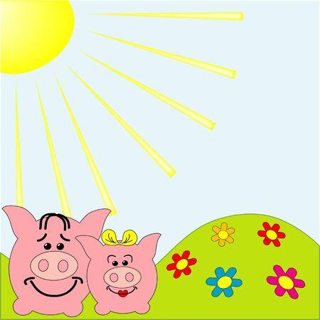 humo: Funny pig