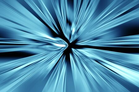cold fusion: Abstract blue metal background Stock Photo