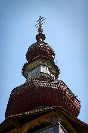 old slavonic church in Ukraine Stock Photo