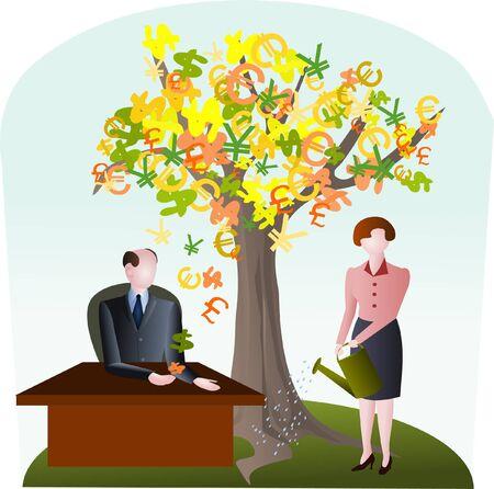 international money tree crop yields