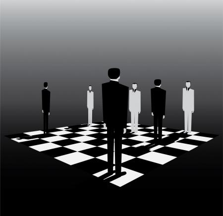 vaincu: la politique est comme un jeu d'�checs