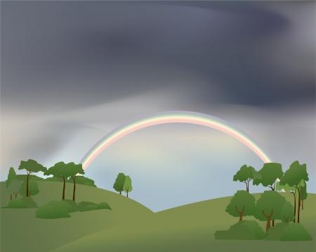 rainbow Illustration