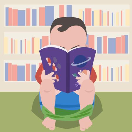 Prodigy: Chłopiec siedzi na garnku z naukowej książki - śmieszne kreskówki